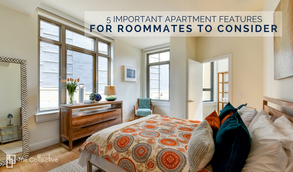 5 Important Apartment Features For Roommates To Consider | 2 Bedroom Apartments In Washington DC | 2 Bedroom Floorplans For Roommates
