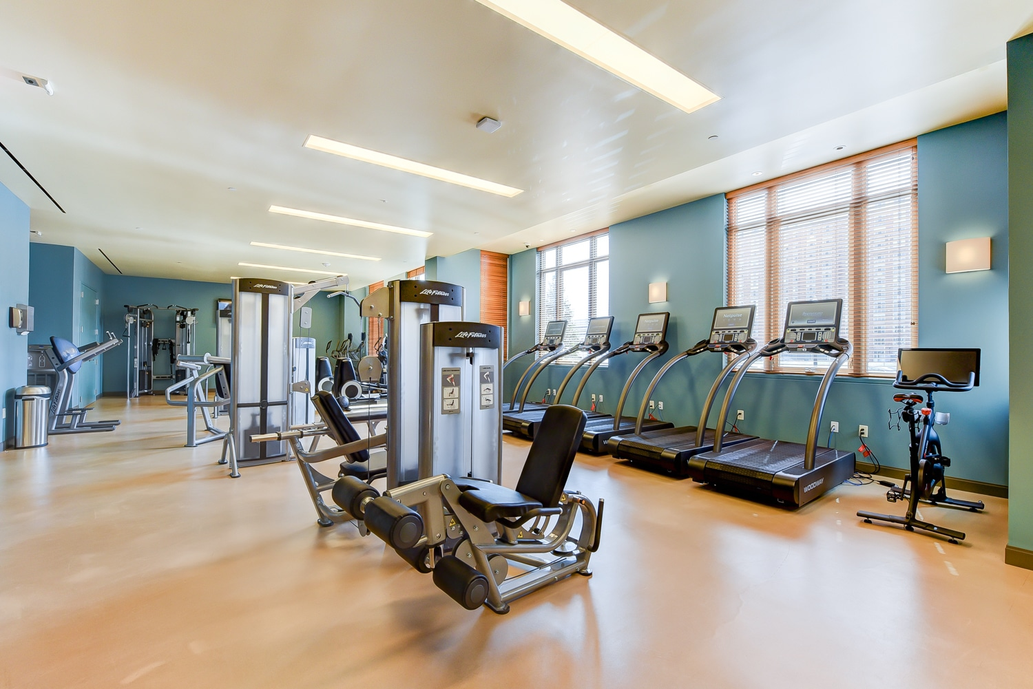 New-Park-Chelsea-fitness-center-woodway-treadmills